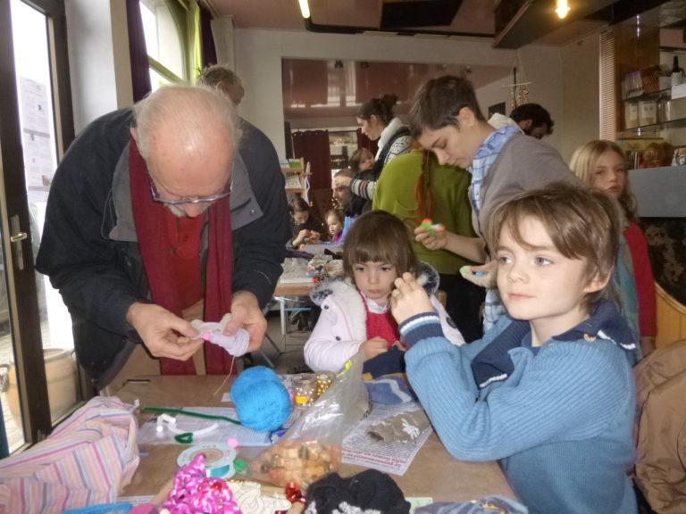 Atelier Marionnettes chaussettes - Novembre 2019